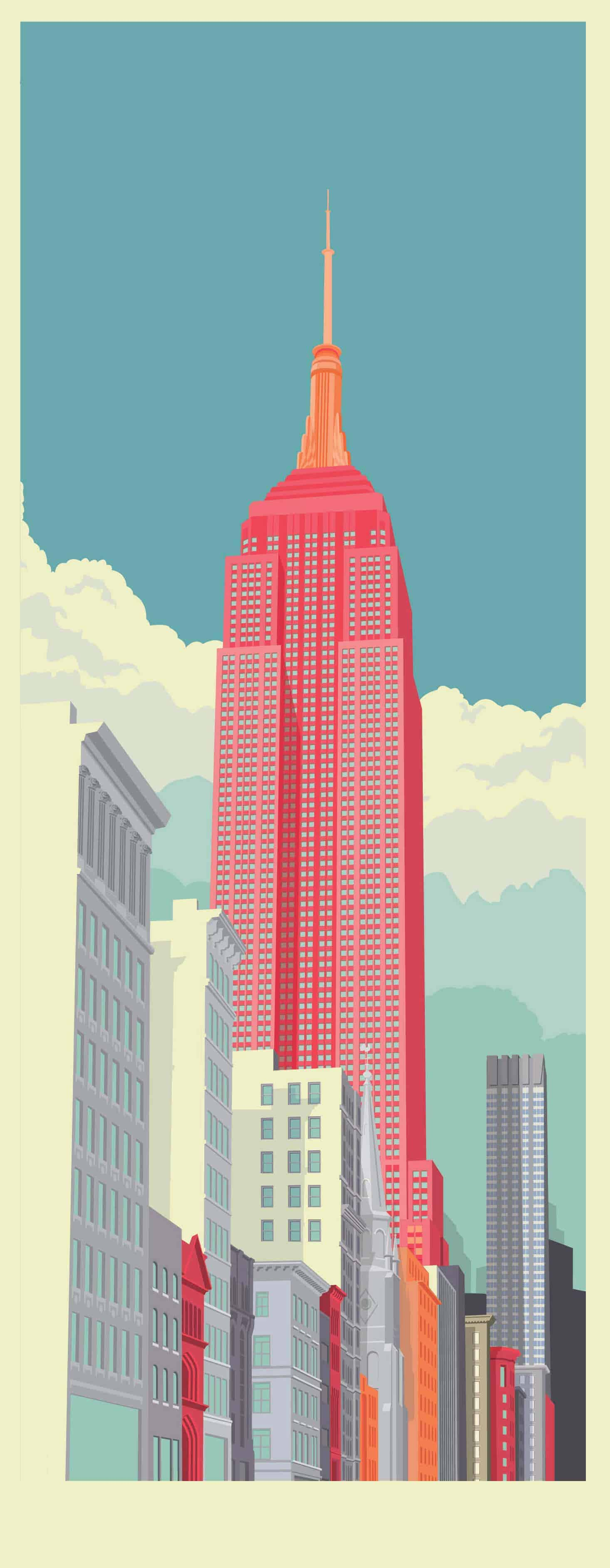 illustratie van New York