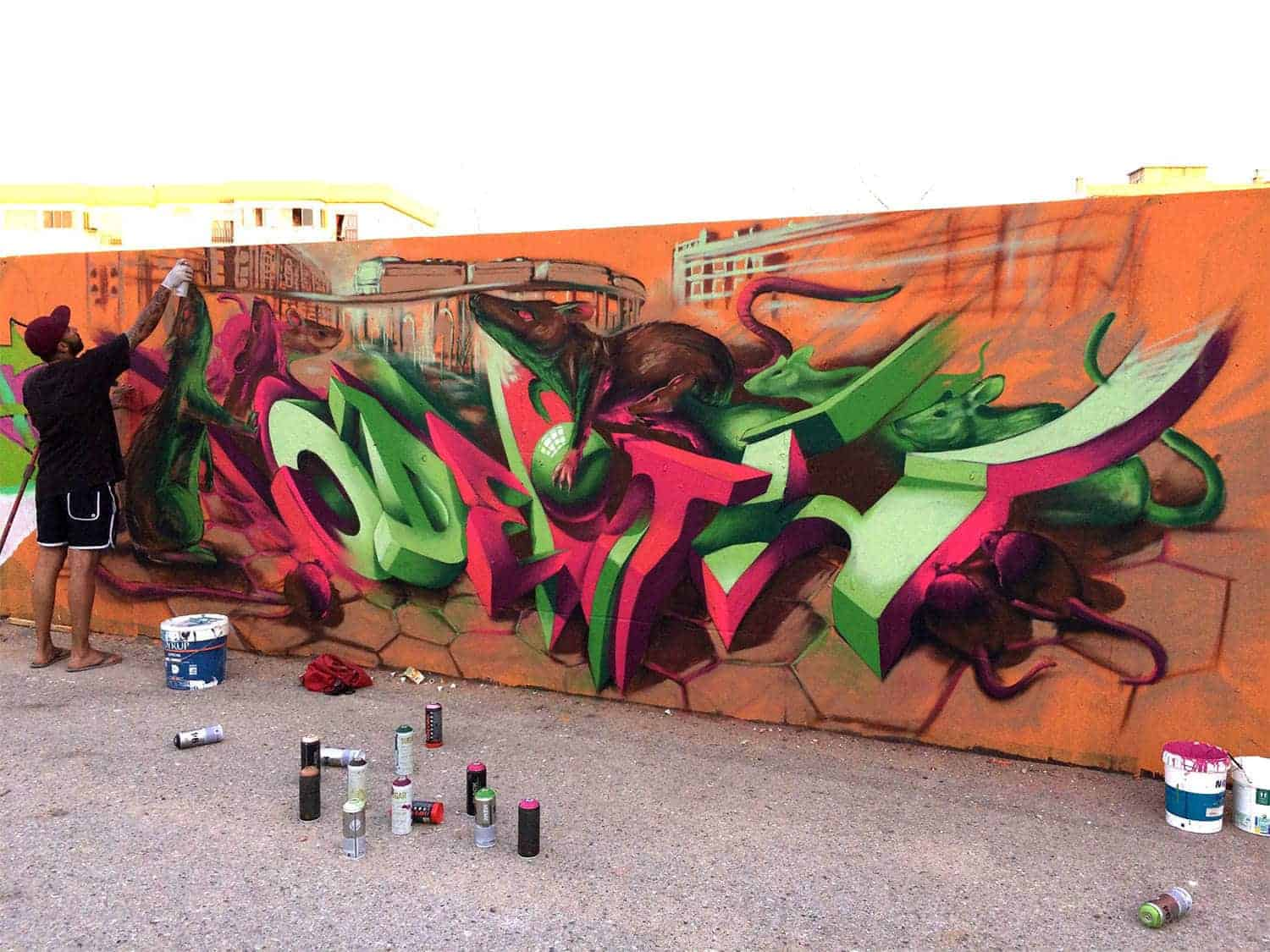 anamorfe graffiti