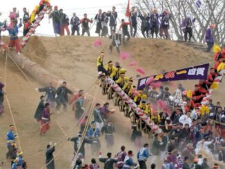 boomstammenfestival in Japan