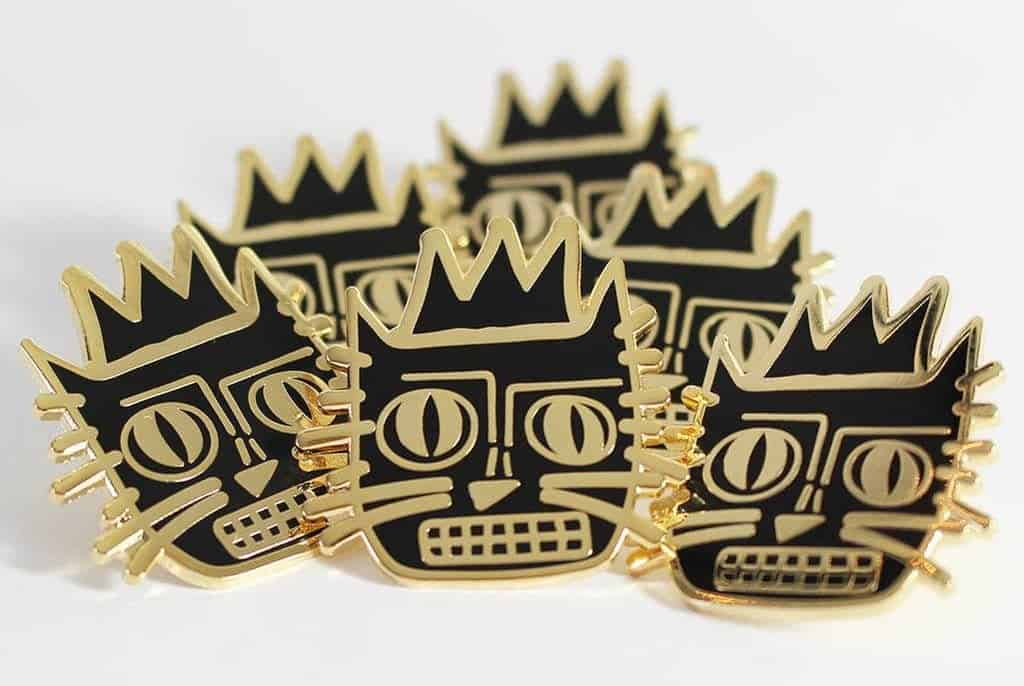 pin van basquiat