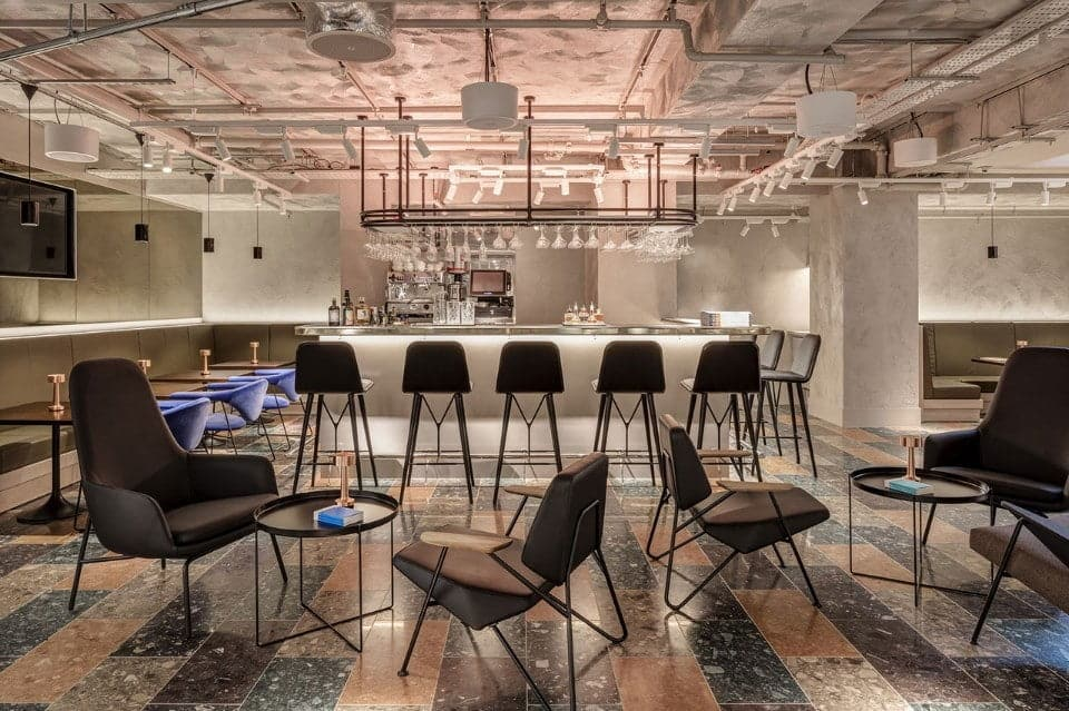 Wallpapers Bar + Kitchen / Virgile + Partners / Londen