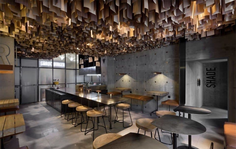 Shade Burger / Yod Design Lab / Poltava, Oekranië