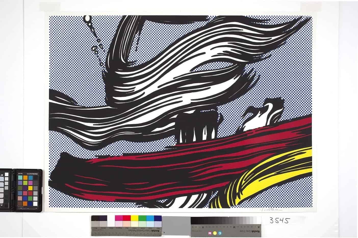 Roy Lichtenstein – Brushstrokes, 1967