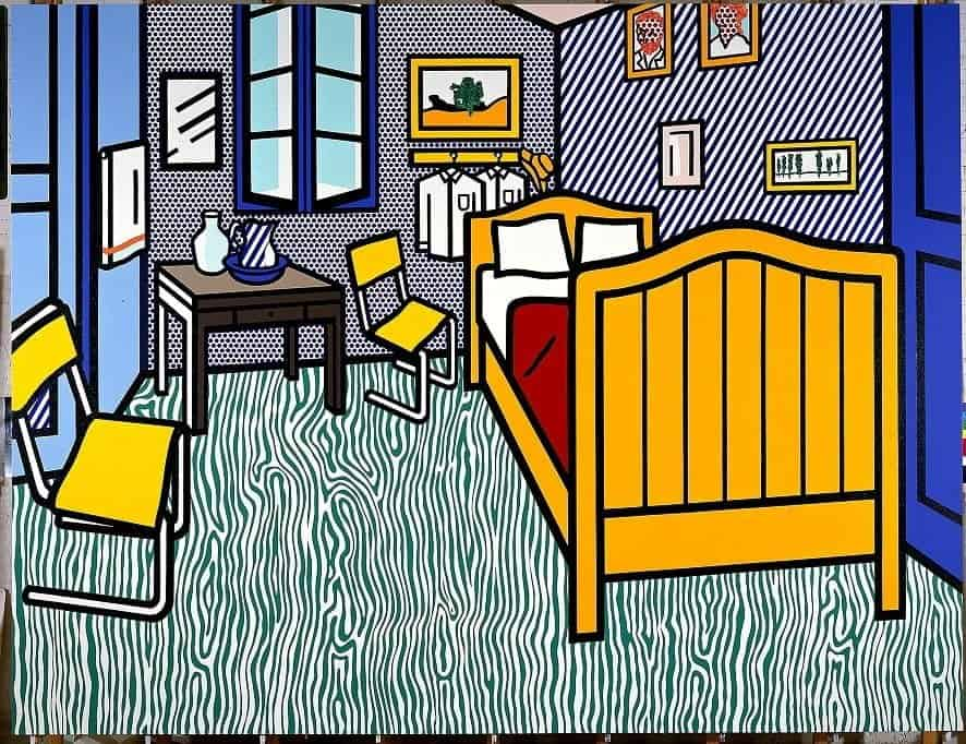 Roy Lichtenstein – Room Arles, 1992