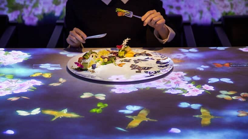 interactief restaurant in Tokio