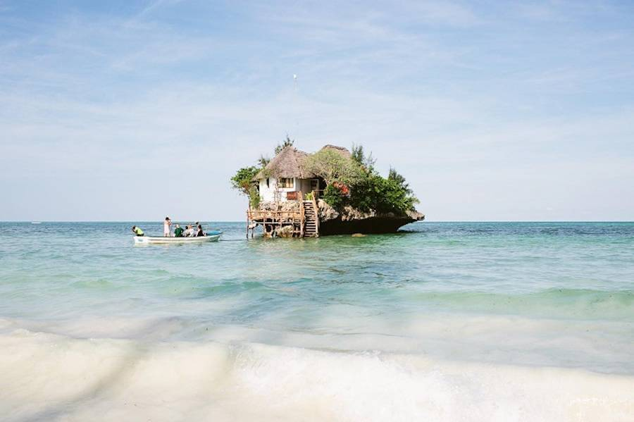 The Rock in Zanzibar