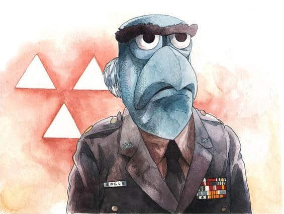 Illustrator Justin DeVine mixt The Muppets met Twin Peaks