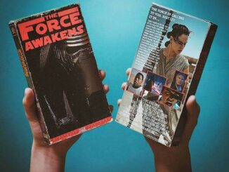Star Wars: The Force Awakens op VHS