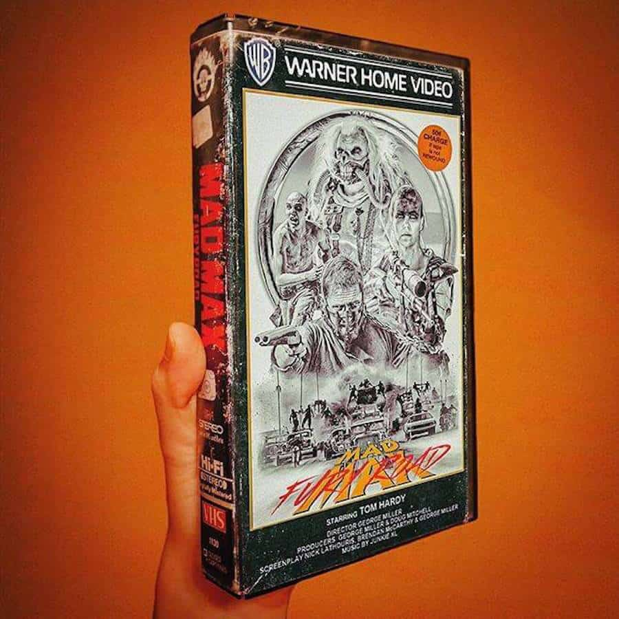 Mad Max: Fury Road op VHS