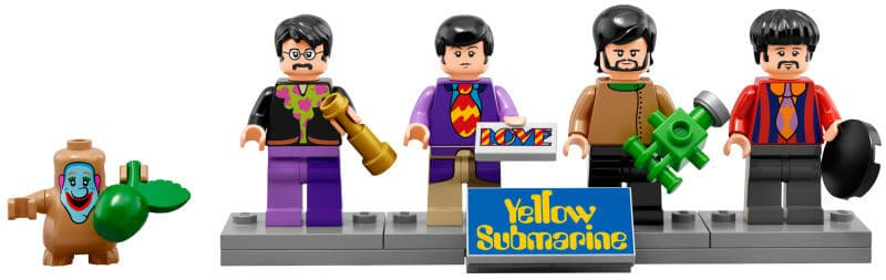 The Beatles van LEGO